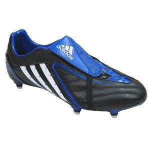 Adidas Absolado Ps weichen Boden Rugby Stiefel Junior, schwarz, UK 11 jnr