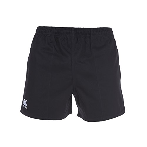 Canterbury Men's Professional Cotton Short – Black, Large