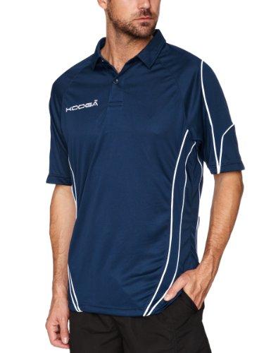 Kooga Rugby Herren Poloshirt Tech Teamwear mehrfarbig Navy/White M