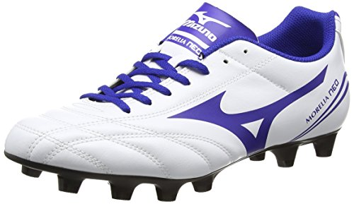 Mizuno  Morelia Neo Cl Md,  Herren Rugbyschuh , White (White/Surf the Web/Chinese Red) –  11 UK (46 EU)