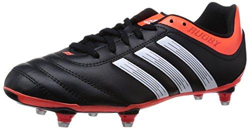 Adidas R15TRX SG Rugby-Stiefel, Schwarz/Solar Red, Cblack/Cwhite/Solred, 48 2/3