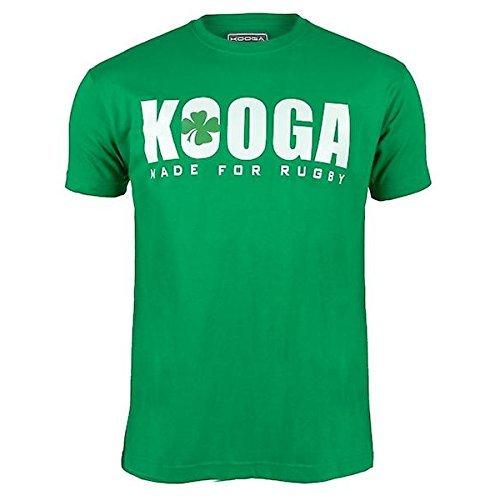 Kooga Frankreich International Rugby Logo T-Shirt – Ireland, Medium