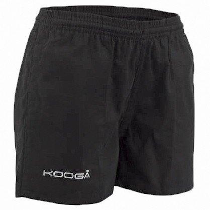 KooGa Kinder Rugby Sport Shorts Murrafield (66cm) (Schwarz)