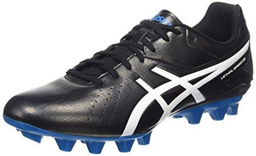 ASICS Lethal Speed Rs, Herren Rugbyschuhe, Schwarz (black/white/methyl Blue 9001), 43.5 EU