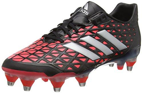 adidas Herren Adipower Kakari SG Rugbyschuhe, Black (Schwarz (Negbas / Plamet / Rojimp)), 44 2/3 EU