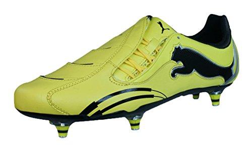 Puma Powercat 1.10 Rugby WC SG Herren-Leder-Rugby Stiefel-Yellow-47