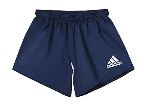 adidas Herren Shorts RUGBY, Blau/Weiβ, L, 4054712745489