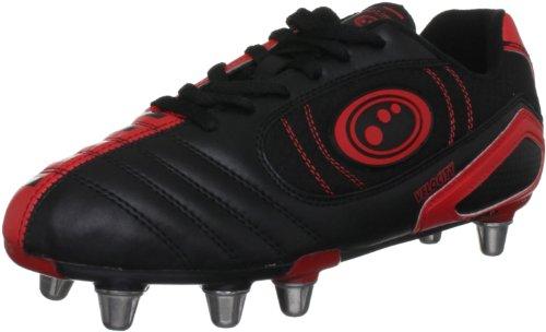 Optimum Herren Rugbyschuh Velocity schwarz schwarz/red 7  UK