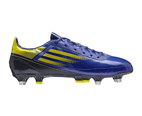 ADIDAS RS7 TRX SG 3 Rugby-Schuhe Herren, Blau/Gelb, 40 2/3