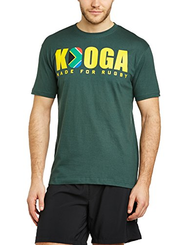 Kooga Rugby South Africa International Logo T-Shirt grün grün L