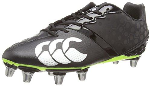 Canterbury Phoenix Club 8 Stud Herren Rugbyschuh, Black (98A), 42