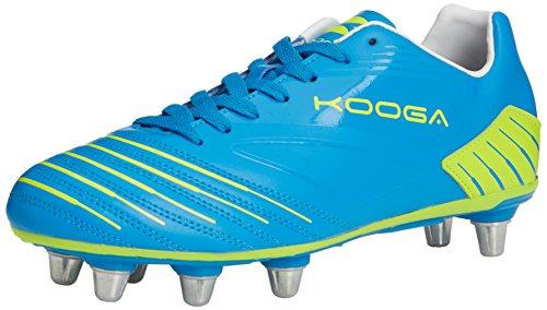 Kooga Advantage, Herren Rugbyschuhe, Blau (blue/lime), 50 EU