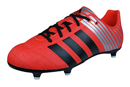 adidas Regulate Kakari SG Jungen Rugby-Stiefel-Red-36