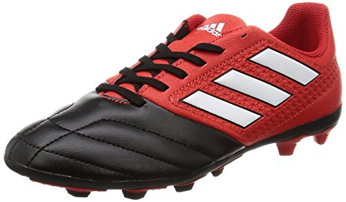 adidas Unisex-Kinder Ace 17.4 Fxg Stiefel, Rot (Red/ftwr White/core Black), 35.5 EU