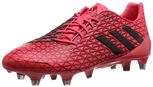 adidas Herren Predator Malice SG Rugbyschuhe, Rojo (Rojo (Rojimp / Negbas / Rojpot)), 42 2/3 EU