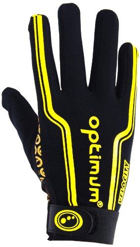 Optimum Velocity Wärmeisolierende Rugby-Handschuhe S gelb
