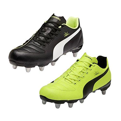 Puma evoPower 4 Low Cut SG – Herren Rugby-Schuhe – Schwarz – 47