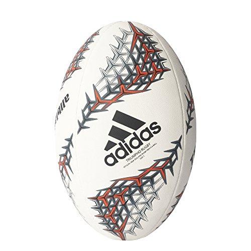 adidas NZRU R BALL Fußball Neuseeländische Rugby-Union-Nationalmannschaft, Herren, Weiß, 5