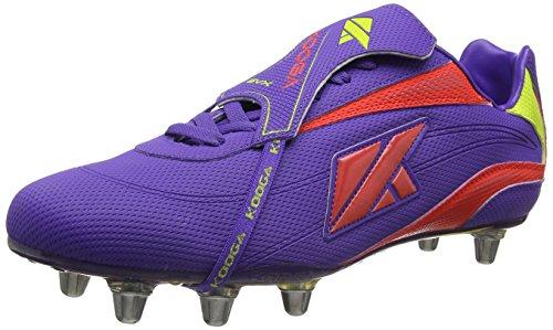 KOOGA Rugby Herren Stiefel Nuevo Purple/Multi 014