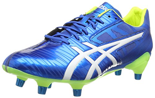 Asics Gel-lethal Speed, Herren Rugbyschuhe, Blau (electric Blue/white/flash Yell 3901), 46.5 EU