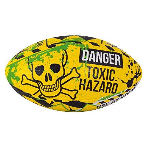 Optimum Herren Hazard Mini Rugby Ball Mehrfarbig Mehrfarbig Nicht zutreffend