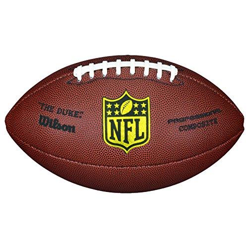 Wilson NFL Duke Replica American Football, Braun, Ofizielle Größe