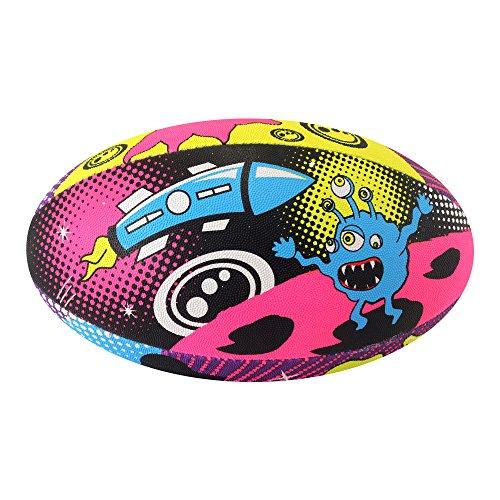 Optimale Platz Monster Rugby Ball Mehrfarbig mehrfarbig Mini