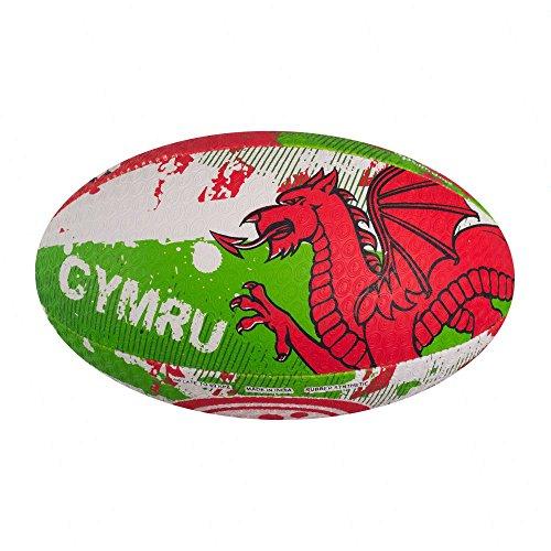 Optimum Nation Wales Rugby League Union Ball – Mini