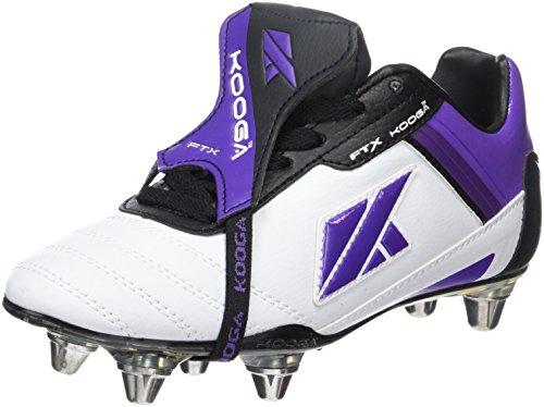 KOOGA Nuevo FTX LCST Junior Rugby-Schuhe Weiß/Mehrfarbig 05H